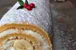 طرز تهیه کیک رولتی کدو حلوایی مجلسی ویژه پاییز