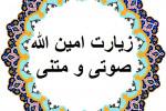 متن و صوت دلنشین (زیارت امین الله) همراه با ترجمه
