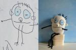 آموزش نحوه تبدیل نقاشی به عروسک