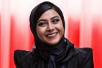ژست های آزاده صمدی در جشنواره جهانی فجر