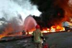 علت آتش سوزی پالایشگاه تهران چه بود ؟