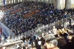 برگزاری جشن بزرگ ربیع الاول در ورزشگاه مشهد حاشیه ساز شد