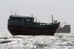 جزئیات و تصاویر کشتی غرق شده در جزیره لارک هرمزگان