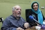 مراسم ازدواج محسن قاضی مرادی و همسرش مهوش وقاری قبل از انقلاب