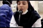 بیوگرافی فروغ احمدی پرستار بیمارستان الزهرا اصفهان + ویدئو شعرخوانی او