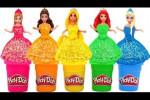 ویدیو بازی با عروسک های دخترانه و خمیر های رنگی