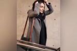 استایل ساده و شیک هانیه توسلی در مقابل عکاسان