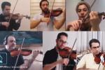 کنسرت آنلاین اثر حسین دهلوی توسط نوازندگان ارکستر ملی ایران
