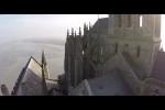 تصاویر هوایی قلعه مونت سنت میشل