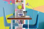 مدل های متنوع دکوراسیون و رنگ آمیزی خانه با رنگ های تند وشاد