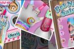 دانلود بازی سالن ناخن حیوانات خانگی Pets Nail Salon v1 برای اندروید