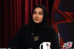 عکسهای هانیه توسلی بازیگر زن در برنامه هفت