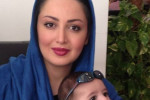 جدیدترین عکسهای شیلا خداداد و همسر و فرزندش