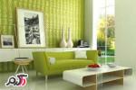 مدلهای دکوراسیون داخلی منزل جدید به رنگ سبز