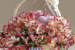 آموزش ساخت سبد گل و میوه با طناب