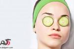 جادوی خیار برای سلامت پوست صورت