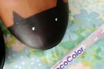 تزئین کفش عروسکی ساده به کفش پیشی