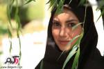 عکسهای معصومه بافنده بازیگر سریال زخم