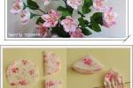 آموزش درست کردن گل با پارچه گل گلی