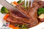 کباب گوشت فرانسوی (فرنچ رُست بیف)