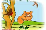 قصه کودکانه گربه تنها
