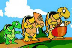 قصه کودکانه گردش لاک پشت ها