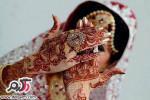 طراحی حنا روی دست برای مراسم حنابندان