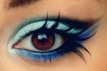 آرایش چشم مدل طاووسی