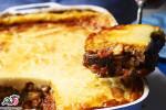 موساکا(گراتن بادمجان)غذای یونانی