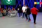 مهرداد میناوند و علی انصاریان در مسابقه شوتبال