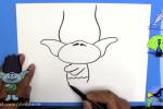 آموزش نقاشی به کودکان   این قسمت نقاشی عروسک ژولی پولی