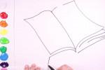 آموزش نقاشی به کودکان | این قسمت نقاشی کتاب