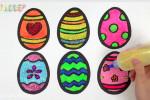 آموزش نقاشی به کودکان | این قسمت نقاشی تخم مرغ تزئینی برای سفره هفت سین