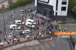 مقابله پلیس با هواداران منچستر