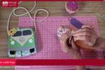 آموزش دوخت کیف عروسکی طرح ماشین با نمد