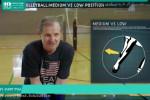 آموزش تصویری والیبال برای کودکان