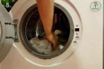 شستن کتانی در ماشین لباسشویی