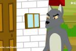 قصه کودکانه شب کوتاه تصویری سه خوک کوچولو