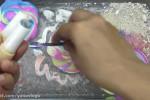 بازی با اسلایم های رنگی