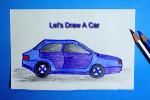 آموزش کشیدن نقاشی ماشین
