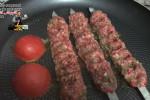 طرز تهیه کباب کوبیده خانگی در ماهیتابه