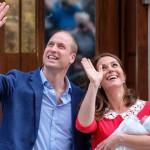 تصاویر تولد فرزند سوم پرنس ویلیام و کیت میدلتون !
