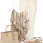 مدل ست لباس تابستانی برای مجالس دورهمی جدید و شیک