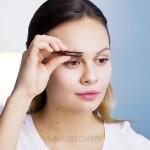 آموزش آرایش سریع ابرو و چشم در 5 دقیقه (فیلم)