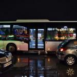 تصاویر آبگرفتگی برخی خیابان های مشهد به دنبال بارش شدید باران