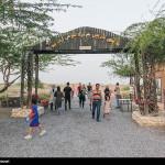 شهر تاریخی حریره  واقع در شمال جریره کیش