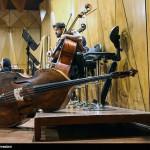 تصاویر تمرین ارکستر سمفونیک تهران