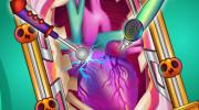 بازی آنلاین جراحی قلب هیولا