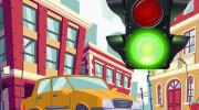 بازی آنلاین کنترل ترافیک