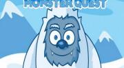 بازی هیولا در جستجوی آدمک یخی
